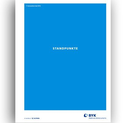 Innovationsreport BYK