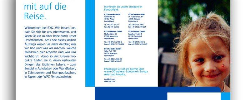 Flyer Nachbarschaftskommunikation BYK