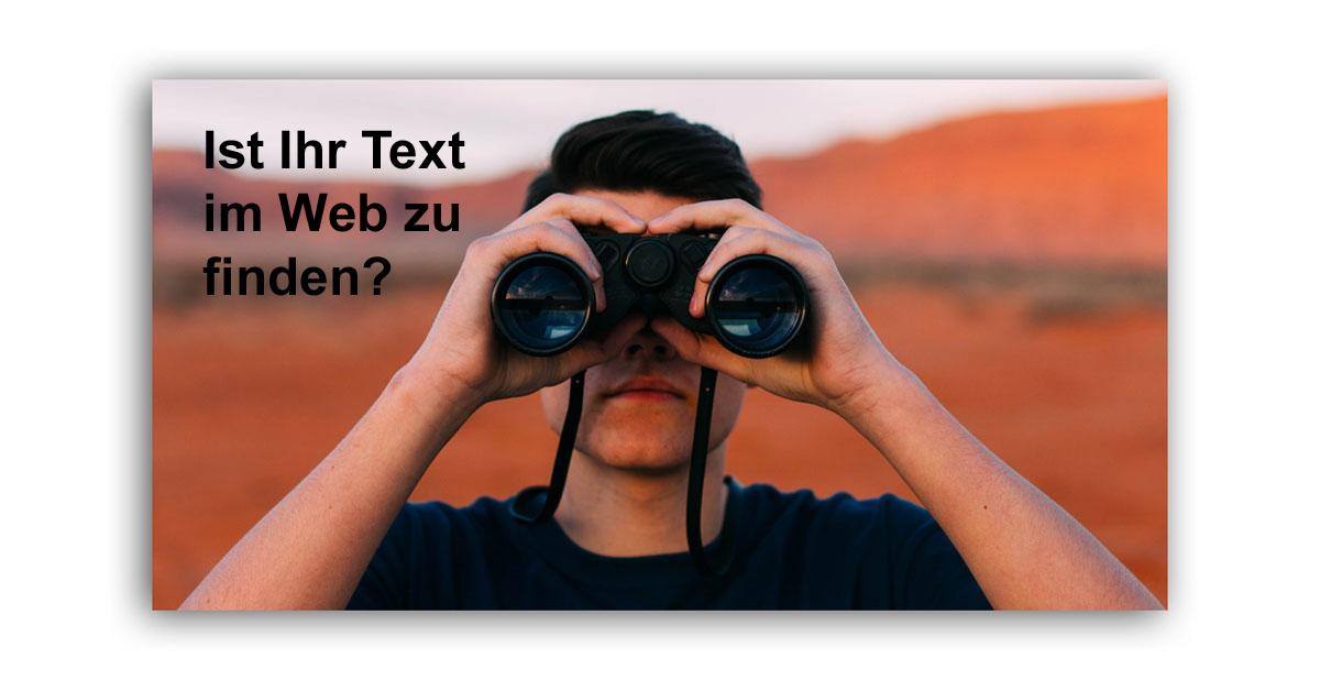 Text im Web – gut zu finden, leicht zu lesen.