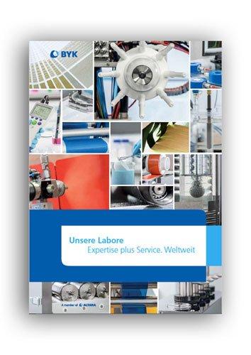Text und Redaktion für die Laborbroschüre der BYK-Chemie.
