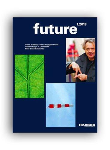 Kundenzeitschrift future für Harsco Infrastructure