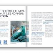 WTZ Jahresbericht 2018 Die Selbstheilungskraft des Körpers nutzen
